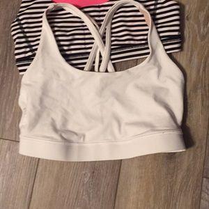 White energy bra. Size 6.